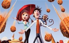 Preview wallpaper Cloudy with a Chance of Meatballs