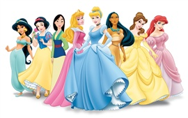 Preview wallpaper Disney cartoon princesses photo