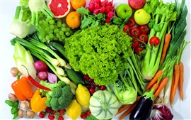 Preview wallpaper Food fruits and vegetables