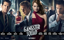 Preview wallpaper Gangster Squad
