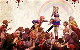 Preview wallpaper Lollipop Chainsaw game wide