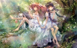 Magia chicas del anime