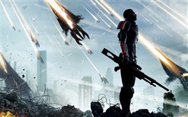 Preview wallpaper Mass Effect 3 game 2012