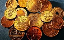 Money coins close-up Wallpapers Pictures Photos Images