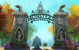 Preview wallpaper Monsters University
