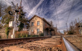 미리보기 배경 화면 Norristown 철도