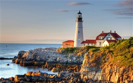 Preview wallpaper Portland Lighthouse
