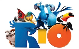 Preview wallpaper Rio cartoon movie