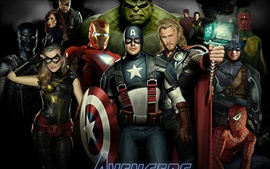Preview wallpaper The Avengers 2012 movie HD