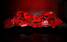 Preview wallpaper ATI Radeon Graphics abstract ads