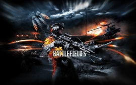 Preview wallpaper Battlefield 3 game HD