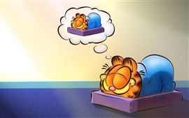 Preview wallpaper Cartoon star Garfield