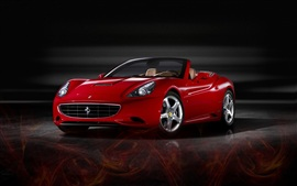 Preview wallpaper Ferrari advanced sports car