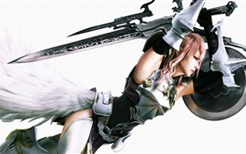 Preview wallpaper Final Fantasy XIII-2 game HD