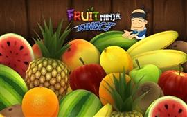 Aperçu fond d'écran fruit Ninja