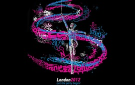 Preview wallpaper London 2012 Olympics, Let the party begin