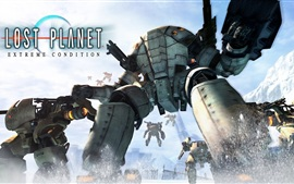 Aperçu fond d'écran Lost Planet: Extreme Condition HD