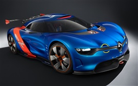 Preview wallpaper Renault Alpine A110-50 concept car