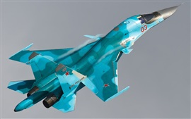 Preview wallpaper Su-34 Sukhoi bomber