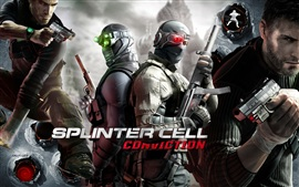 Aperçu fond d'écran Cellule Tom Clancy Splinter: Conviction