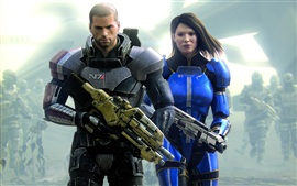 Preview wallpaper 2012 Mass Effect 3