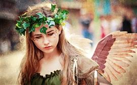 壁紙のプレビュー 夏の天使の女の子