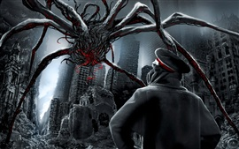 Preview wallpaper Apocalyptic mutant spider