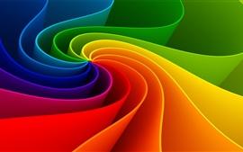 Aperçu fond d'écran Colorées rayures abstraites commun