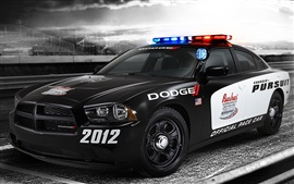 Preview wallpaper Dodge police car