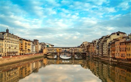 Preview wallpaper Florence, Italy, Ponte Vecchio
