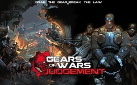 Preview wallpaper Gears of War: Judgment HD