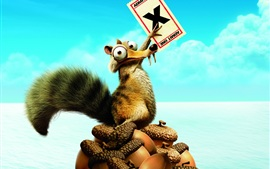Preview wallpaper Ice Age 4: Continental Drift movie poster