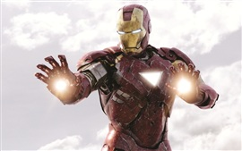 Preview wallpaper Iron Man is fighting, The Avengers