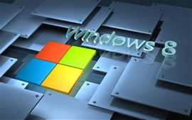 Preview wallpaper Microsoft Windows 8 System logo