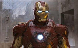 Superhero Iron Man in The Avengers