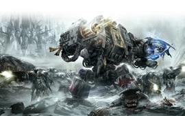 Preview wallpaper Warhammer 40000: Space Marine HD