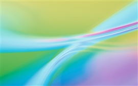 Abstract background, colorful curve