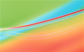 Preview wallpaper Abstract background, red and blue background curve