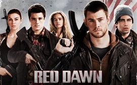 Preview wallpaper Red Dawn 2012