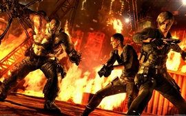 Preview wallpaper Resident Evil 6 XBOX game