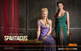 Preview wallpaper Viva Bianca in Spartacus: Vengeance
