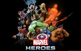 Preview wallpaper Marvel Heroes