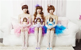Orange Caramel, Korean music group, beautiful girls
