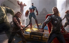 Preview wallpaper The Avengers 2012 hot movie