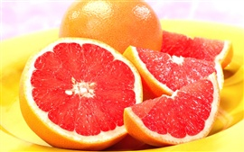 Preview wallpaper The red pulp of oranges