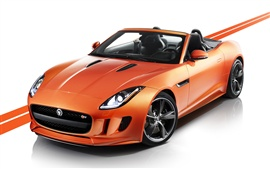 Preview wallpaper 2012 Jaguar F-type with Black Pack