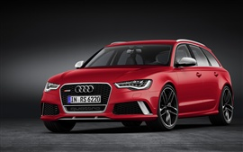 Preview wallpaper 2013 Audi RS6 Avant