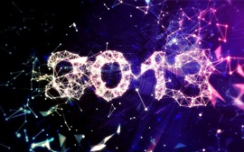 Preview wallpaper 2013 New Year creative design