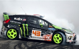 Preview wallpaper Ford, Supercar, drift, smoke