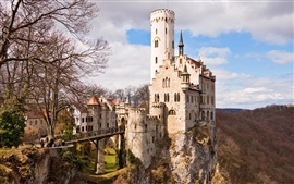 German medieval castle Wallpapers Pictures Photos Images
